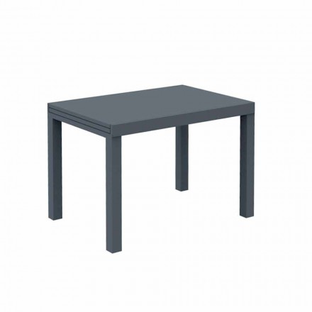 Mesa extensible para exteriores de hasta 280 cm en metal Made in Italy - Dego