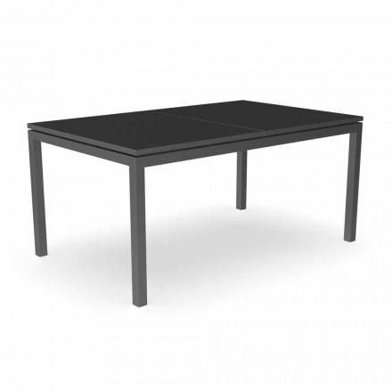 Mesa de comedor extensible para jardín 280 cm en aluminio - Adam by Talenti