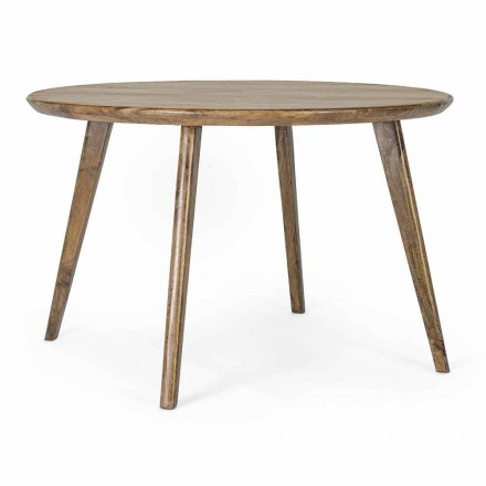 Mesa de comedor redonda Homemotion con tablero de mango - Rondolo