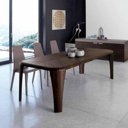 Mesa de madera de diseño moderno hecha a mano en Italia Madera