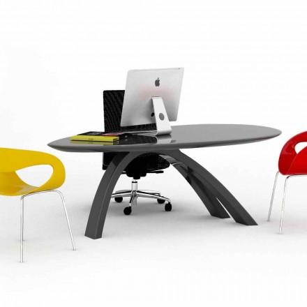 Mesa/escritorio de oficina de diseño hecha en Italia Jatz II