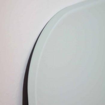Radiador de diseño eléctrico hecho de vidrio templado Brian, hecho en Italia.