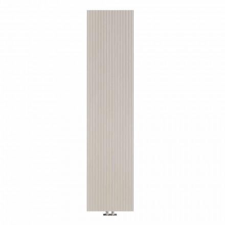 Radiador de pared hidráulico de diseño vertical en acero 900 W - 1000 líneas
