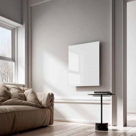 Radiador eléctrico de rayos infrarrojos de cristal blanco Clear