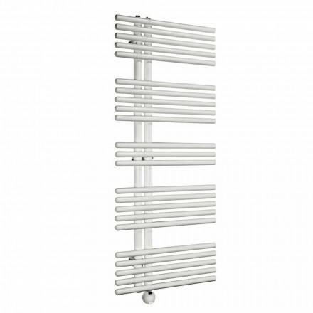 Radiador de baño eléctrico de pared de diseño moderno hasta 700 W - Pavo real
