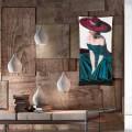 Radiador eléctrico diseño con foto y cristal templado Barry