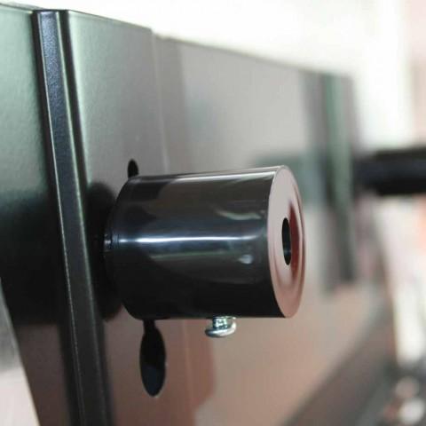 Radiador de diseño eléctrico en vidrio templado Jonny.