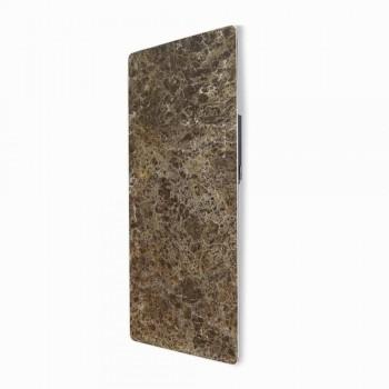 Radiador eléctrico de vidrio templado con acabado de piedra Jonny
