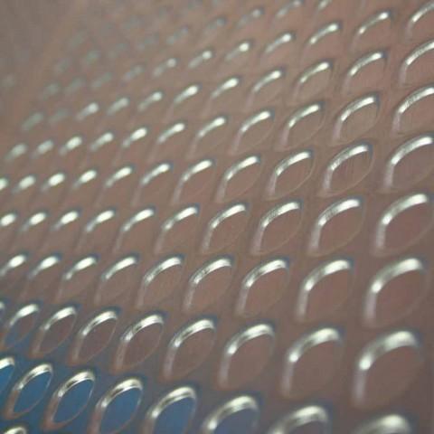 Radiador hidráulico de diseño rectangular de vidrio Brian