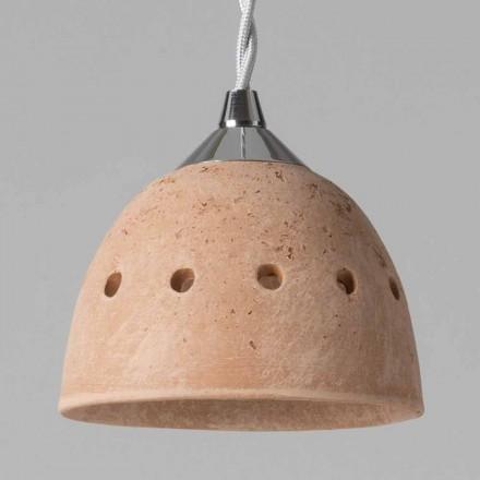 Toscot Apuane lámpara suspendida sin roseta hecha en Toscana