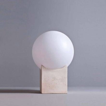 Toscot Atlante palo luz de exterior hecho en Toscana