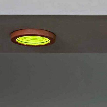 Toscot Carso foco de encastre hecho en Toscana Ø23 cm