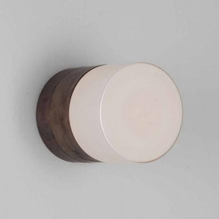TOSCOT Chapeau! Lámpara de pared / techo artesanal hecha en la Toscana
