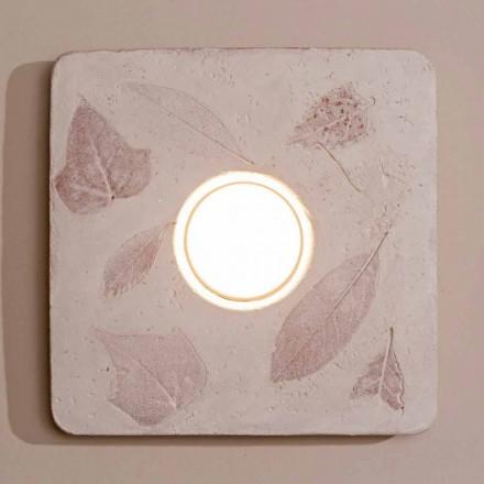 Lámpara de pared de terracota Toscot Vivaldi hecha en Italia