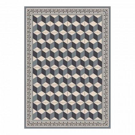 Mantel individual de diseño americano en PVC y poliéster, 6 piezas - Romio