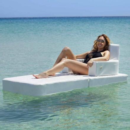 Sillón flotante Trona Basic para piscina moderna hecho en Italia