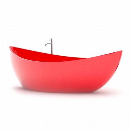 Bañera decorativa de Solid Surface® hecha en Italia Funamori