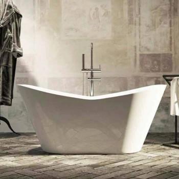 Bañera de diseño moderno e independiente fabricada en Italia Ragusa