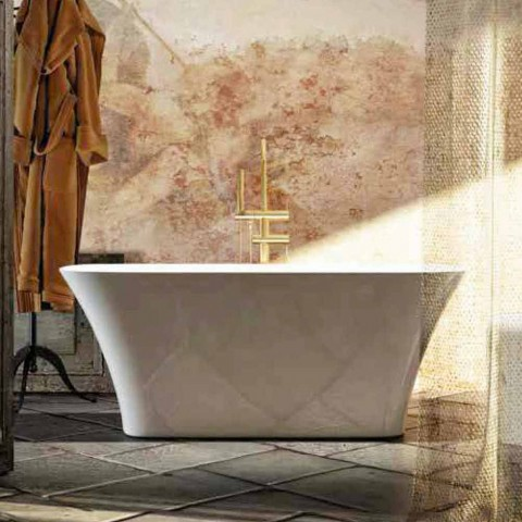 Tina de baño de diseño moderno hecha en Italia Gallipoli