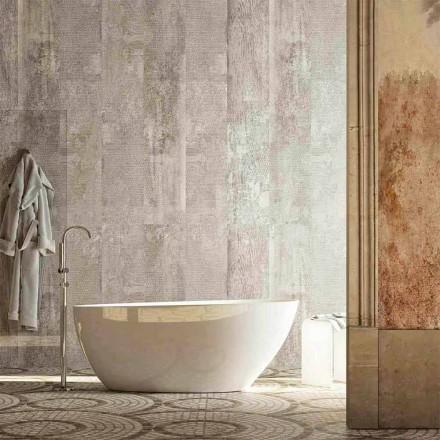 Bañera independiente oval de Albenga, diseño moderno, hecho en Italia
