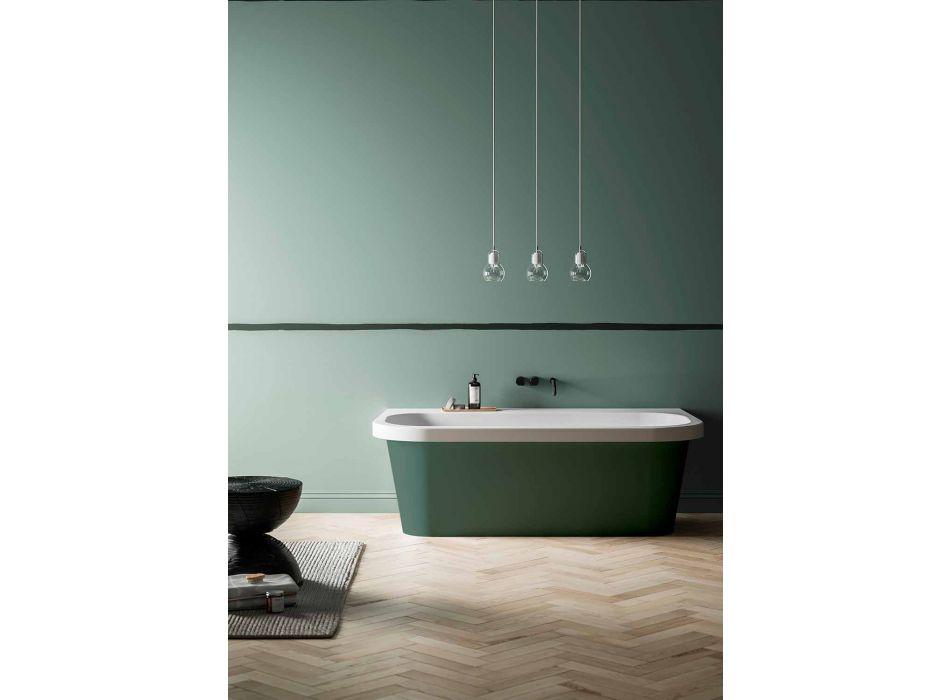 Bañera brillante / opaca de dos tonos, moderna e independiente - Margex