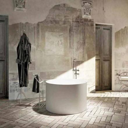 Bañera redonda de diseño redondo hecha en Italia Cremona