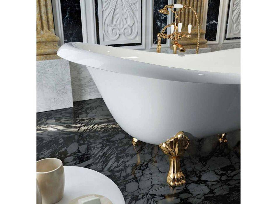Bañera de diseño clásico independiente hecha en Italia, Fregona