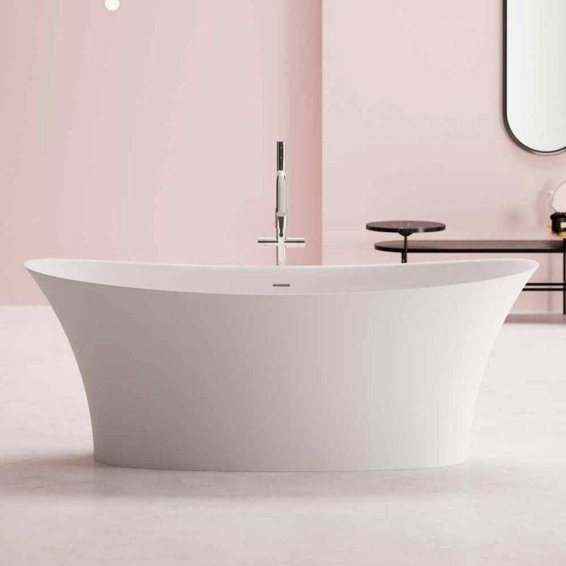 Bañera de diseño independiente, Diseño de superficie sólida - Aspecto