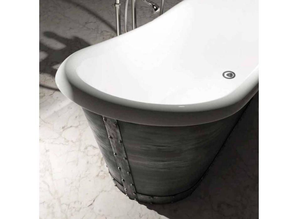 Bañera independiente de resina de diseño moderno hecha en Italia, Furtei