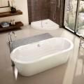 Baño moderno independiente blanco abril 1800x830 mm