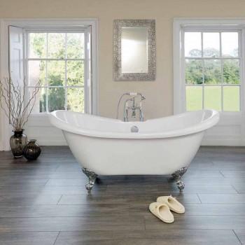 baño independiente diseño moderno blanco de acrílico 1750x720mm primavera