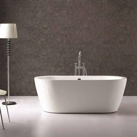 el diseño del baño en acrílico blanco independiente Nicole 1775x805 mm