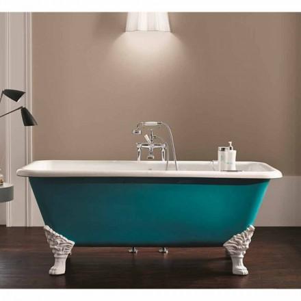 el diseño del baño de hierro fundido independiente alfileres decorativos Wanda