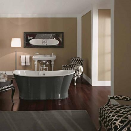 baño independiente en hierro fundido con un diseño original de Cox