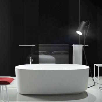 Bañera de diseño monobloque independiente producida en Italia, Dongo