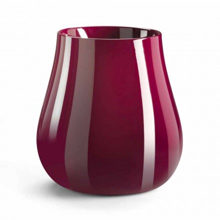 Jarrón decorativo de diseño en forma de gota en polietileno Made in Italy - Monita