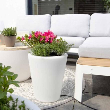 Florero luminoso para exteriores e interiores, diseño colorido en 3 dimensiones - Vasostar