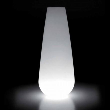Jarrón Luminoso para Diseño Exterior en Polietileno Made in Italy - Menea