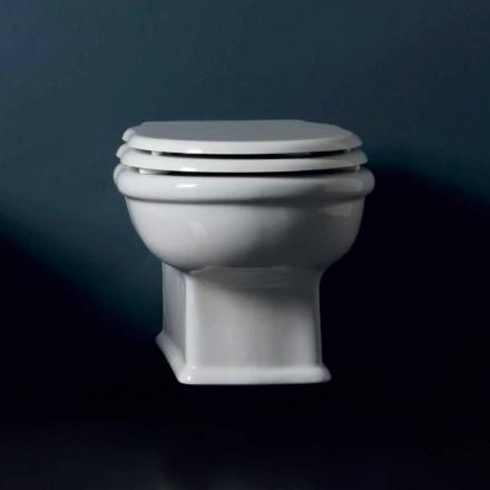 Diseño suspendido de cerámica estilo WC 54x36 hecho en Italia