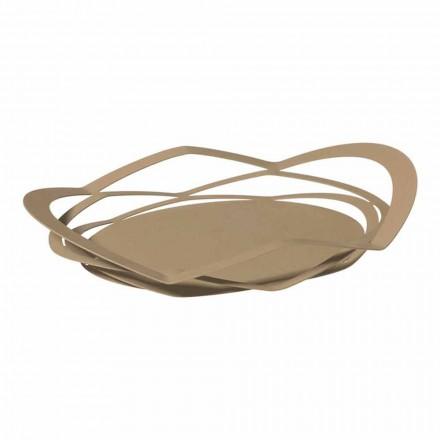 Bandeja de cocina moderna hecha a mano de hierro, hecha en Italia - Futti
