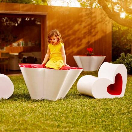 Jardinera de diseño para exteriores Vondom Agatha en polietileno coloreado