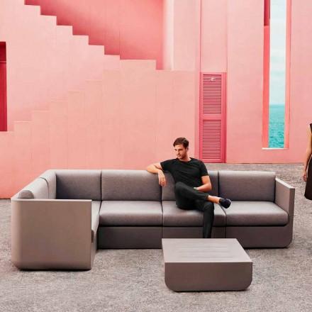 Vondom Ulm composition taupe design garden lounge