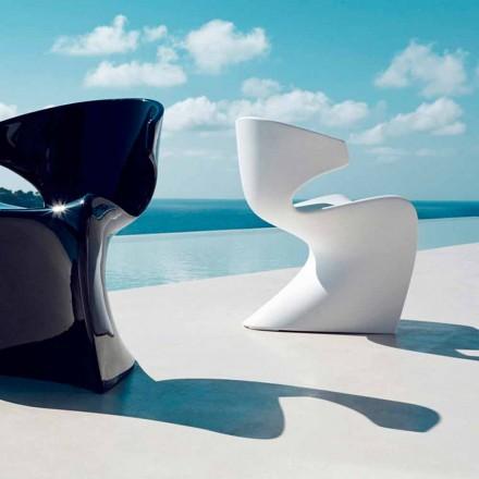 Vondom Wing silla de jardín de diseño en polietileno L50xD56xH74 cm